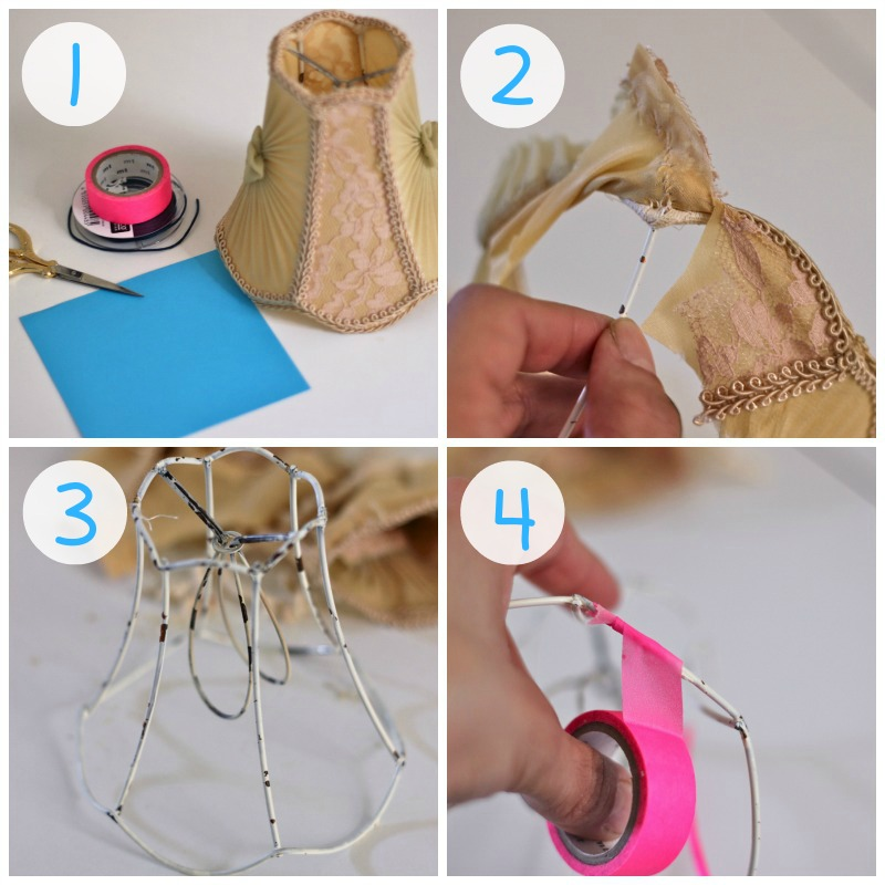 DIY-Donnerstag {Lampenschirm Upcycling}