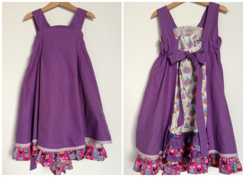 Mädchenkleid sew along 1